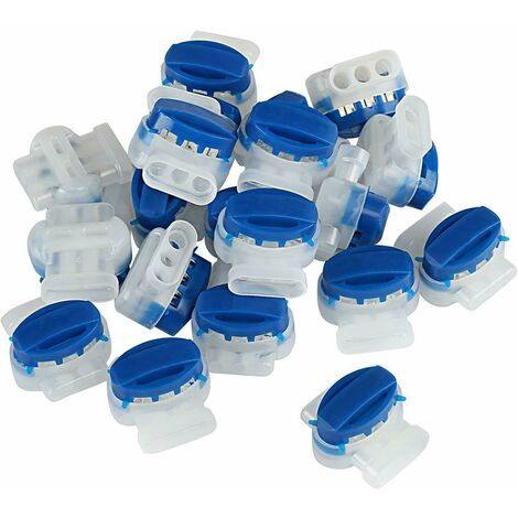 Set of 20 cable connectors filled with resins for automower mower robot