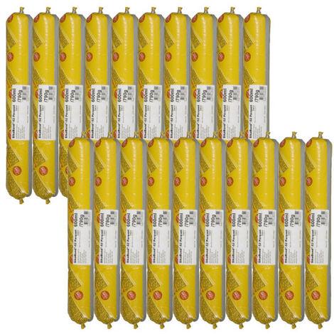 Set of 20 pockets elastic glue SIKA SikaBond 52 Parquet - 600ml