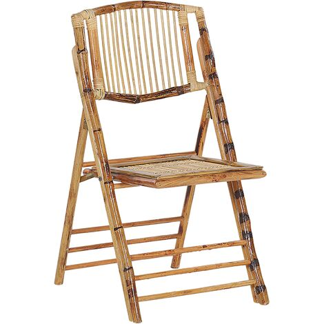 Set of 4 Bamboo Chairs TRENTOR