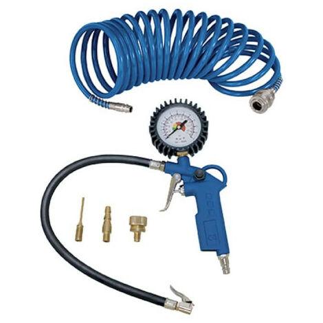 Set of 5 SCHEPPACH compressed air accessories - 7906100724