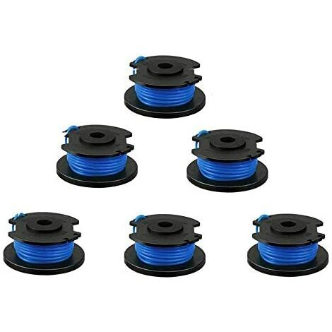 """main image of """"Set of 6 0.065 '' 18 Volt 24V 40V String Trimmer Replacement Spools, Compatible with Ryobi One + AC14RL3A, 11ft Cordless Trimmer Line (6 Pack) SOEKAVIA"""""""