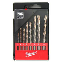 Set of 8 concrete drill bits DIN 8039 MILWAUKEE 4932352324