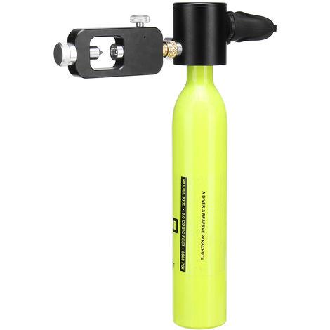 Set Oxygen Tank Air Mini Oxygen Cylinder Scuba Diving Equipment Hasaki