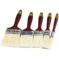 Set pennelli pittura recensioni cancello ringhiere setola dura varie misure 5pz