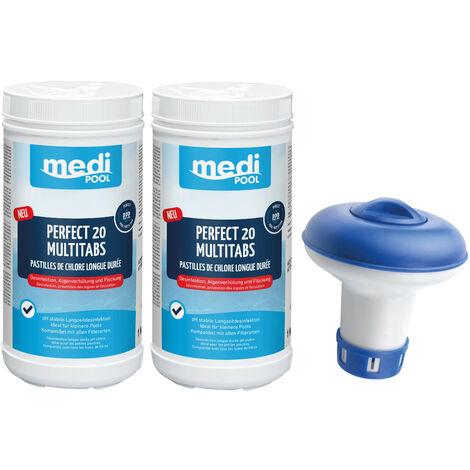 SET: Perfect Blue Tabs 20g, 2 x 1 KG und 1 x Minidosierer