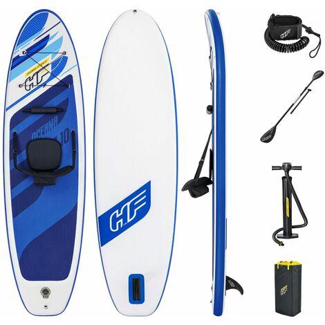 Set planche avec accessoires Kayak Stand Up Paddle SUP - 305x84x12 cm