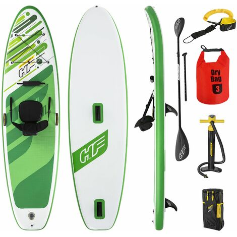 Set Planche gonflable Stand Up Paddle SUP Kayak avec sac - HYDRO-FORCE - 340x89x15 cm