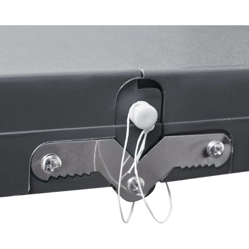 Taburetes Aluminio Gris 4 Camping Mesa Set 1 Plegable Claro 5ARL34jcq