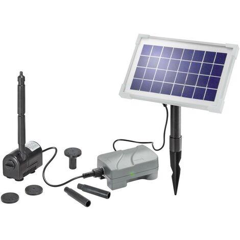 Set pompe solaire 175 l/h Esotec 101709 avec accumulateur de batterie