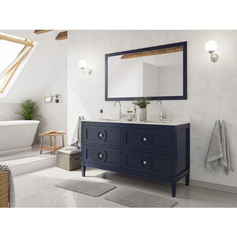 Set premontado Lavanda 150 2P. estilo rústico azul madera barnizada mármol lav.