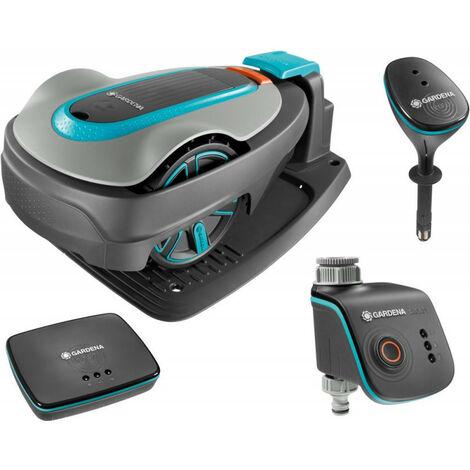 Set robot de tonte SILENO city 500 + Water Control + Sensor + Gateway 19200-20