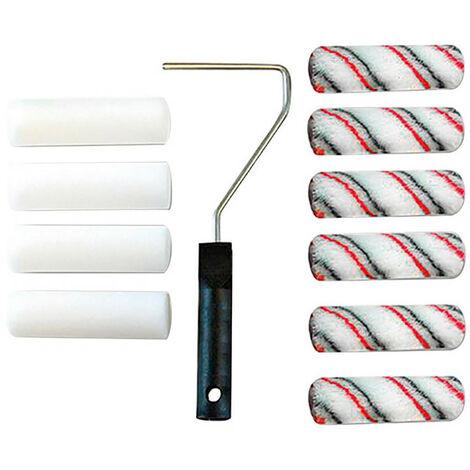 Set rodillo de pintura 11 unidades