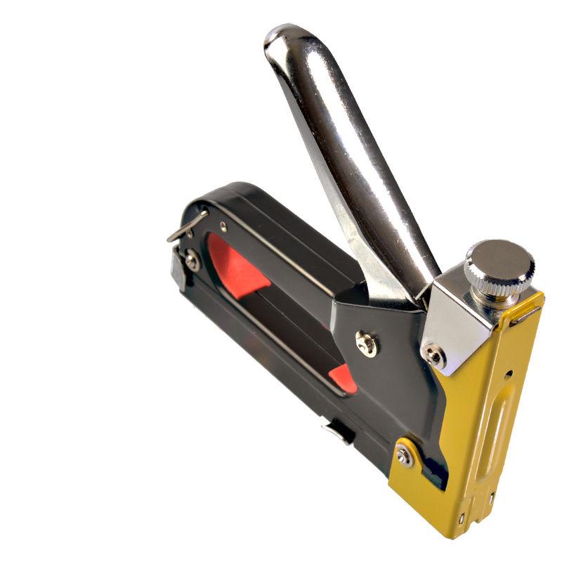 50 Klammern 11mm Handtacker 4-14mm Nagler Hefter  Klammergerät Set Tacker