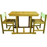 Panca panchina in legno Teak 170x40xh45cm per tavolo da giardino esterno Batu