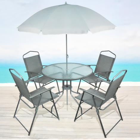 Arredo giardino tavolo sedie for Grancasa arredo giardino