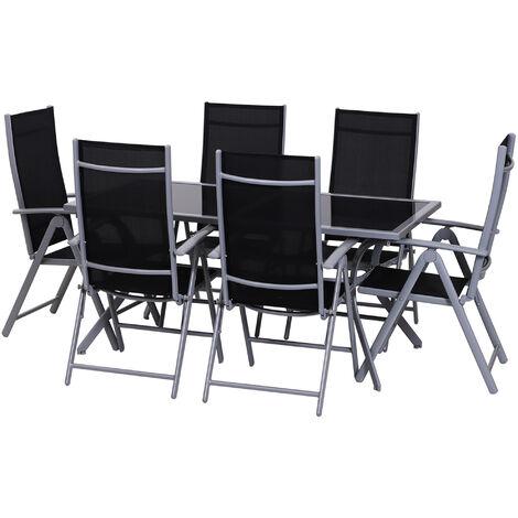 Tavoli E Sedie Da Giardino In Ferro.Tavolo Da 6 Bianco Per Giardino Al Miglior Prezzo