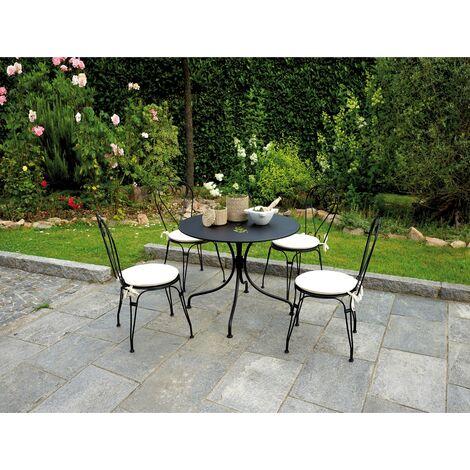 Set tavolo e sedie da giardino con cuscini ttf 52 chf 03 cs 14 - Tavolo e sedie giardino ...