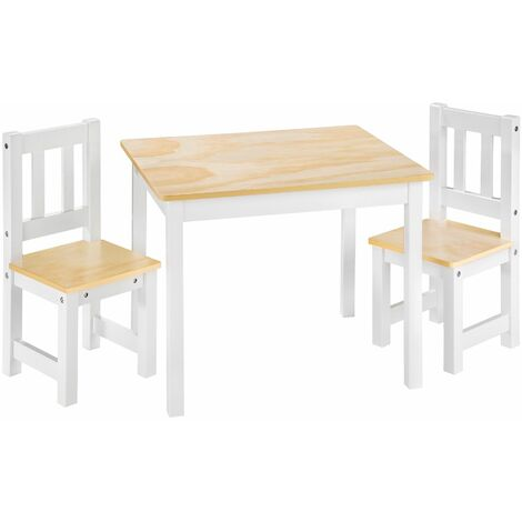 Tavolo In Legno Per Bambini Con Sedie.Set Tavolo E Sedie Per Bambini Alice Tavolino Bambini Sedie Per