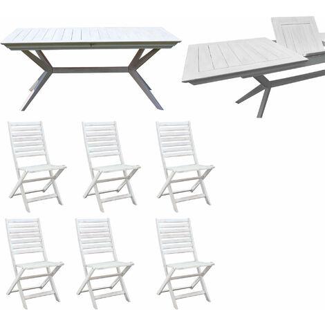 Set tavolo 6 sedie legno al miglior prezzo