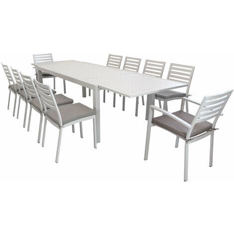 Tavolo da Giardino Allungabile in Teak 220//300 X 100 MILANI HOME S.r.l.s