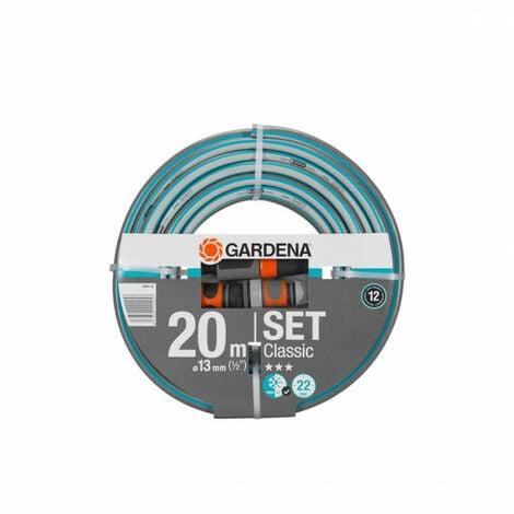 Set tuyau GARDENA - accessoires de raccordement - Classic diamètre 13mm - 20m 18004-20