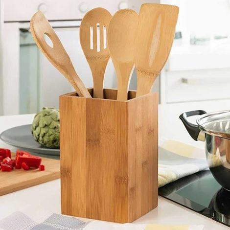 Set Utensili Attrezzi da Cucina con Supporto Vaso ...