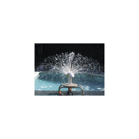 Seta de agua 250mm Astralpool acero inox. AISI-316 pintado naranja - 34380