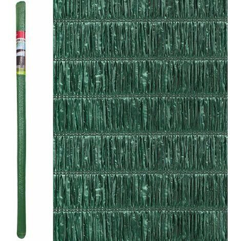 Seto artificial brezo ocultación verde de material plásticode 5x1 metros