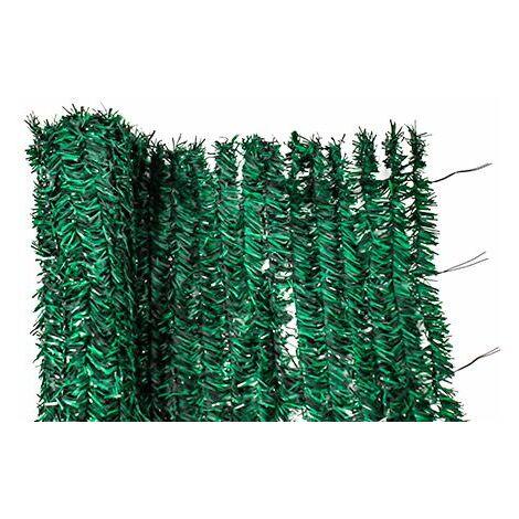 Seto artificial fino standard. Verde bi-color (30 lineas) 2x3