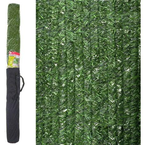 Seto artificial ocultación verde plástico de 200x300 cm