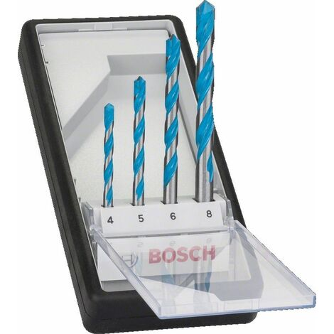 Sets de brocas MultiConstruction CYL-9, Robust Line (4,5,6,8 mm) BOSCH 2607010521