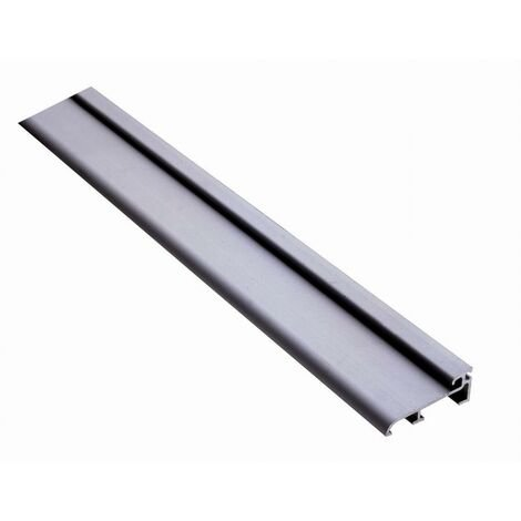 Seuil aluminium MT 50 DUVAL BILCOCQ - Adapté passage handicapé - L.4 m - H.20 mm - MT50-4000-NA