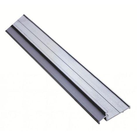Seuil de porte d'entrée menuiserie bois en aluminium - SPR finition aluminium anodisé