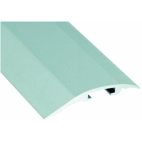 Seuil Invisifix Alu Inc 42mm 93cm - ROMUS