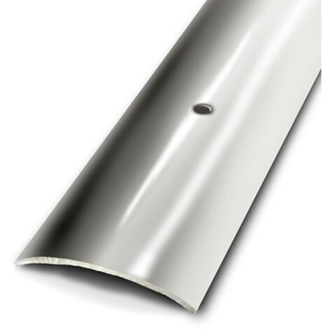 Seuil plat à visser Dinac Inox 3 cm