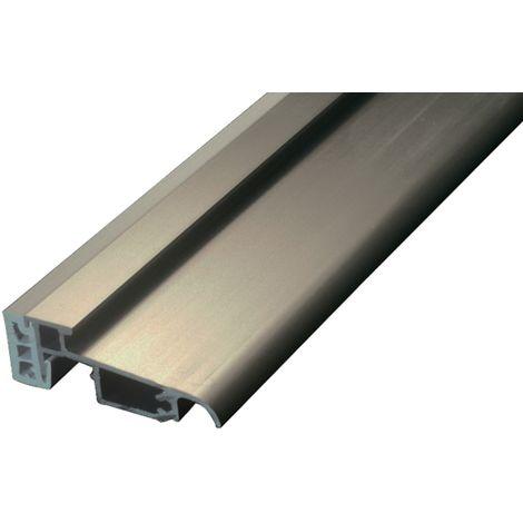 Seuil PMR à rupture de pont thermique BILCOCQ - 60 x 20 mm - PL60RT-NA