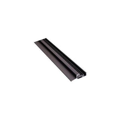 Seuil pour bois à joint sur dormant BILCOCQ - 25 x 71 mm - aluminium brut - PB48BAS