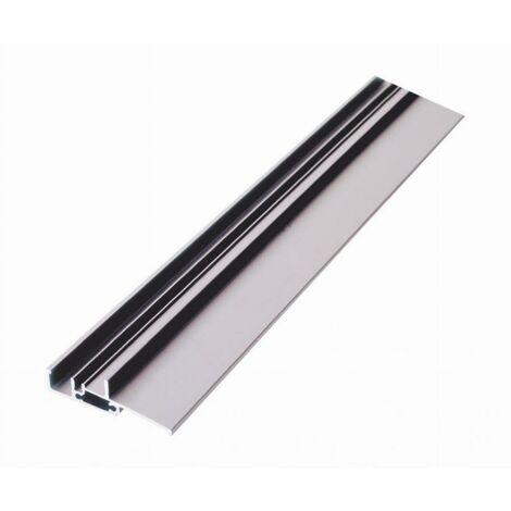 Seuil pour bois à joint sur dormant spécial PMR BILCOCQ - 20x71 mm - aluminium brut - SP20