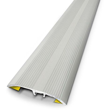 Seuil Universel Dinac aluminium strié 2,7 cm