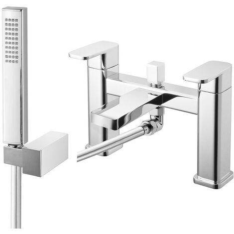 Seville Chrome Bath Shower Mixer & Shower Kit
