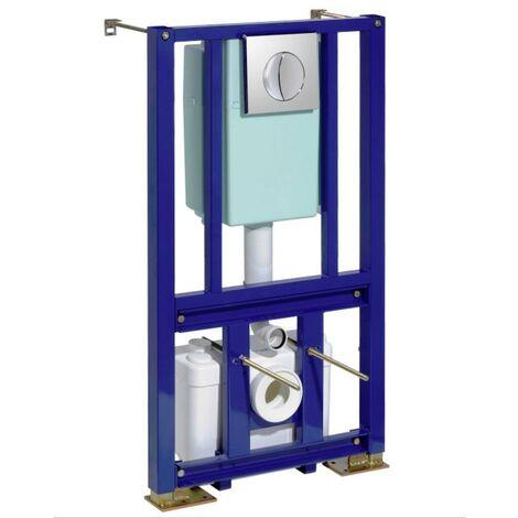 SFA 0100830 SANIWALL PRO Triturador Con Bastidor Para WC Suspendido