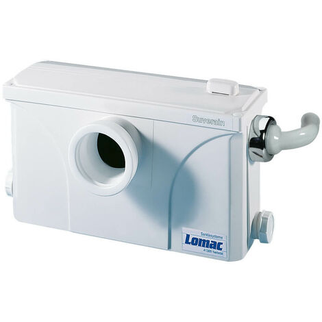 SFA Lomac Suverain 3000-A WC Hebeanlage Schmutzwasser Fäkalien-Hebeanlage