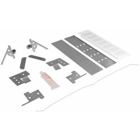 SFA SaniBroy Flexibler Fliesenrahmen weiss für SaniPack & SaniDouche