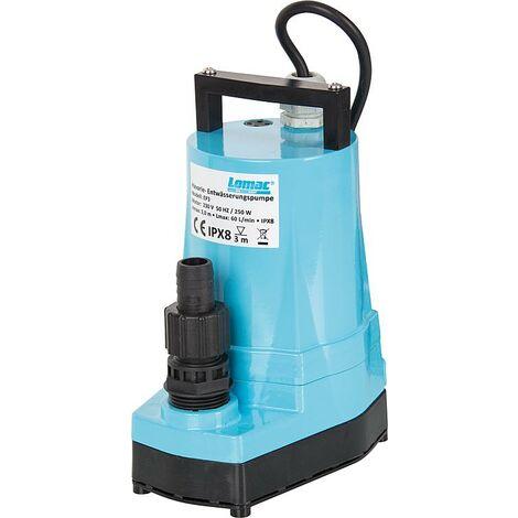 SFA SANIBROY Lomac BlueMax Entwässerungspumpe EP3 Förderungsleistung max 3600 l/h flachsaugend