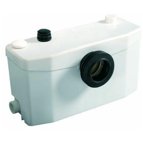 SFA SANIBROYEUR Plus Broyeur avec grande cuve pour évacuer WC et salle de bains Blanc