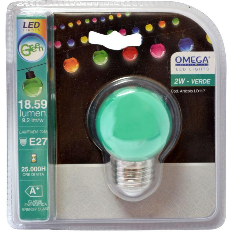 Omega - SFERA LED COLORE:VERDE
