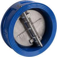 Sferaco 370150 Clapet double battant DN150 - Fonte - Bleu
