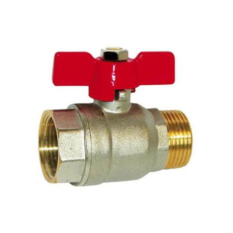 SFERACO ball valve throttle lever 12x17 mm - male-female - 83171 D
