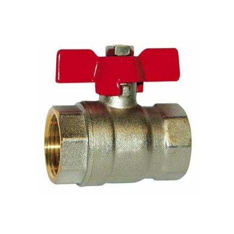 SFERACO válvula de bola acelerador de palanca 15x21 mm - hembra-hembra - 83276 S