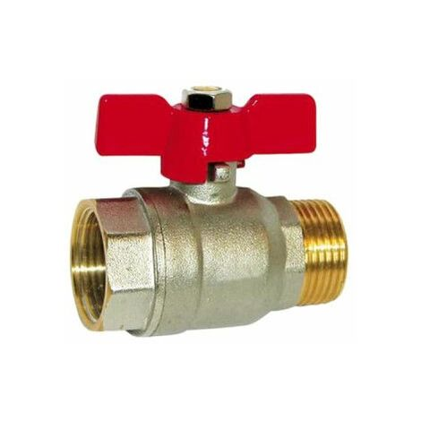 SFERACO válvula de bola acelerador de palanca 20x27 mm - macho-hembra - 83180 N